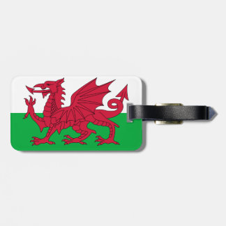 wales luggage tag