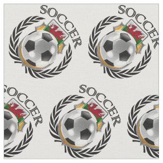 Wales Soccer 2016 Fan Gear Fabric