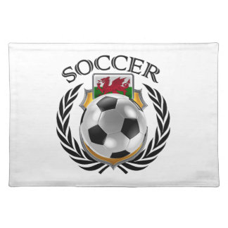 Wales Soccer 2016 Fan Gear Placemat