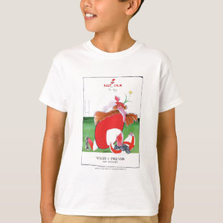 wales v england balls - from tony fernandes T-Shirt