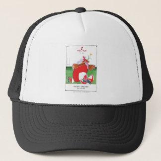 wales v england balls - from tony fernandes trucker hat