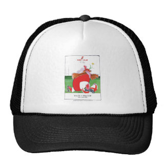 wales v england balls - from tony fernandes trucker hat