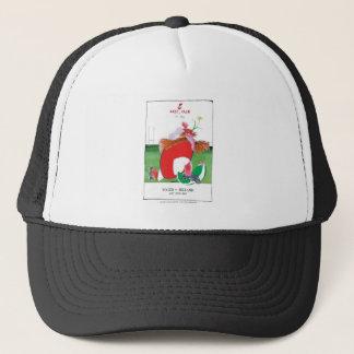 wales v ireland rugby balls by tony fernandes trucker hat