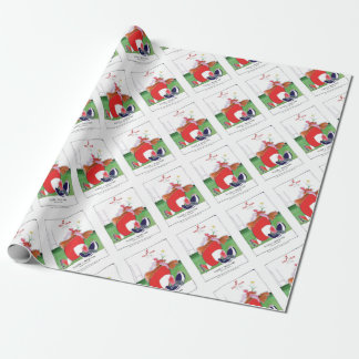 wales v scotland balls - from tony fernandes wrapping paper