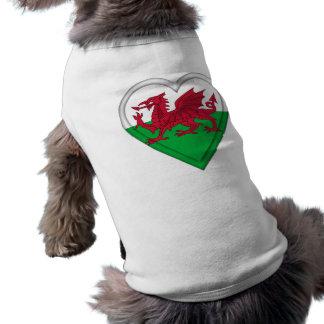 Wales Welsh flag cymru dragon Dog Clothes