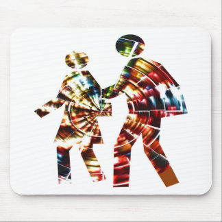 Walk and Grow Together Mouse Mats