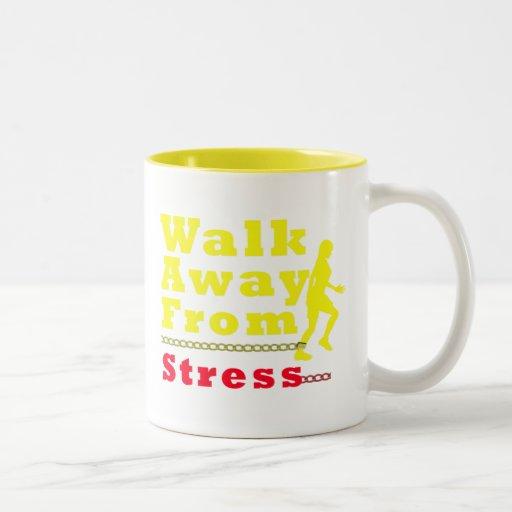 Walk Away From Stress Coffee Mug
