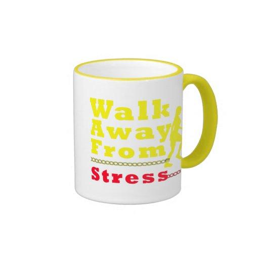 Walk Away From Stress Mug