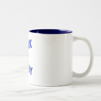 Walk Away Two-Tone Coffee Mug