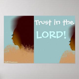 Walk by Faith! Poster