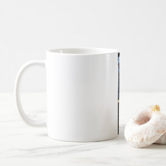 Walk, don't walk (lefty) coffee mug