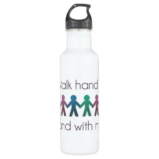 Walk Hand in Hand 24 oz bottle
