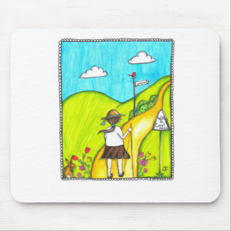 Walk In Love Mouse Pad