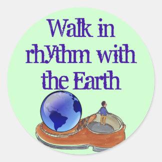 walk in rhythm stickers