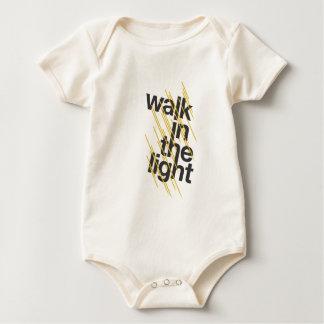 Walk In The Light Baby Bodysuit