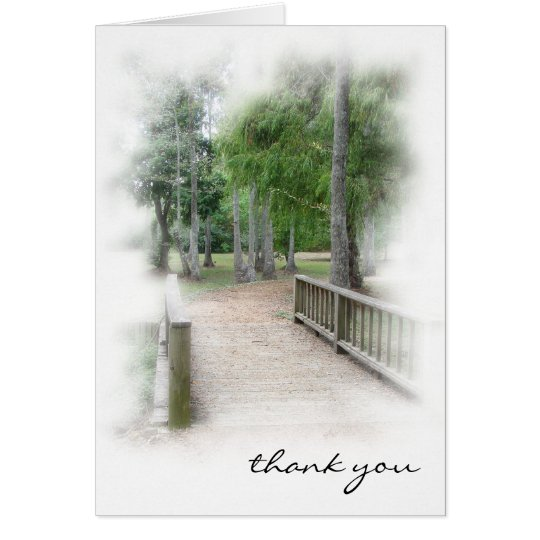 Walk in the Park Thank You Card