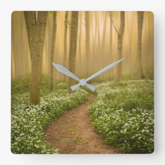 Walk in the Woods Wall Clock