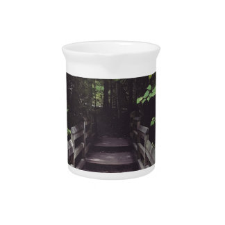 walk into the woods pitcher