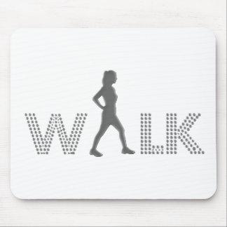 Walk Mouse Pad