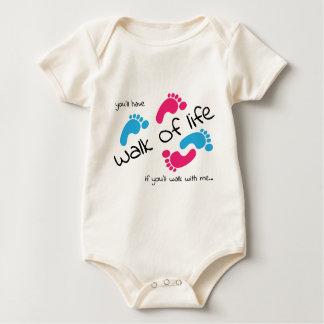 Walk of life baby bodysuit
