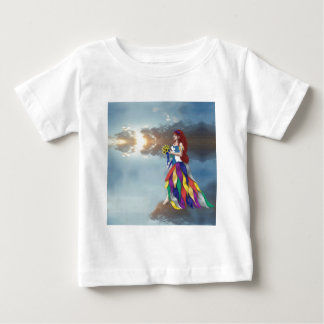 Walk on the clouds baby T-Shirt