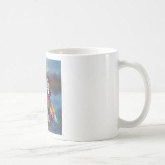 Walk on the clouds coffee mug