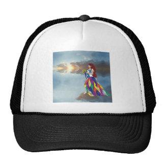 Walk on the clouds trucker hat