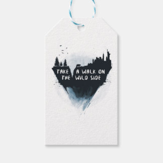 Walk on the wild side gift tags