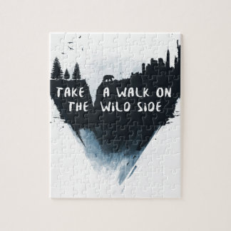 Walk on the wild side jigsaw puzzle