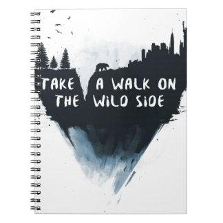 Walk on the wild side notebooks