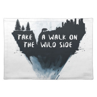 Walk on the wild side placemat