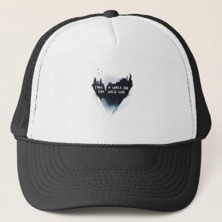 Walk on the wild side trucker hat