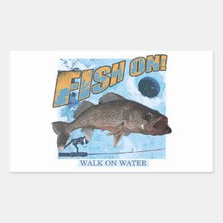 Walk on water walleye