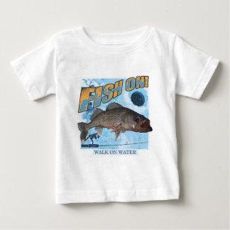 Walk on water walleye baby T-Shirt