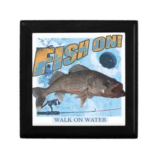Walk on water walleye gift box