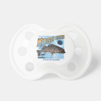 Walk on water walleye pacifiers