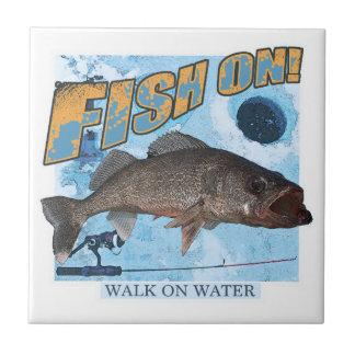 Walk on water walleye tile