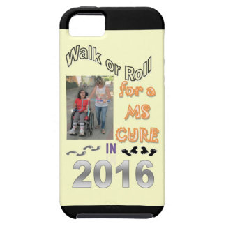 WALK OR ROLL MS CURE iPhone 5 CASES
