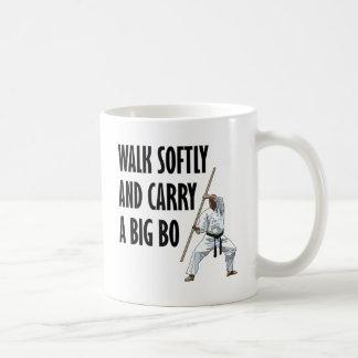 Walk Softly Bo Coffee Mug