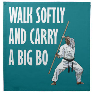Walk Softly Bo Napkin