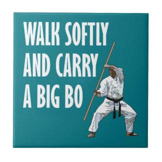 Walk Softly Bo Tile