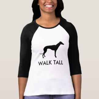 Walk Tall Greyhound Silhouette T-Shirt