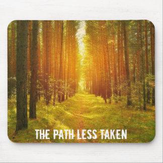 Walk the Path Less Taken Mouse Pad