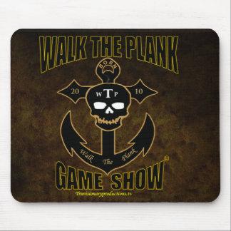 Walk The Plank Game Show Mouse Pad