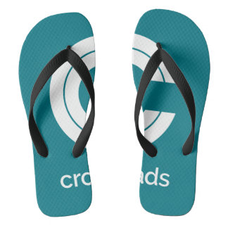 Walk the Waterfront with Classic Crossroads Flip Flops