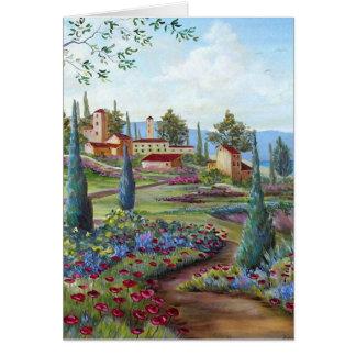 Walk through Tuscany Card