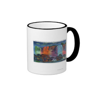 Walk to Cave of the Winds at Night Coffee Mug