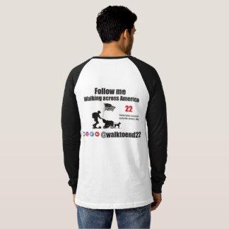 Walk To End 22 raglan shirt