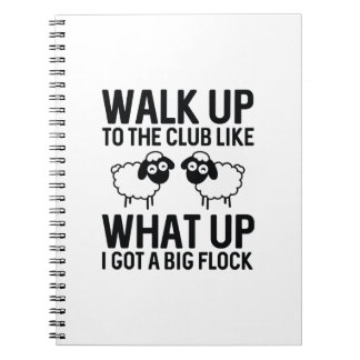Walk Up To The Club Notebooks