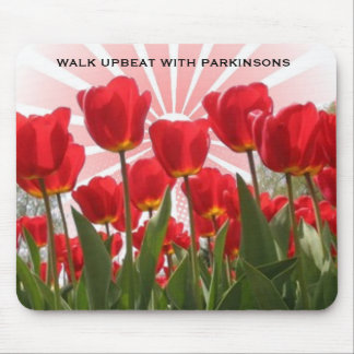 WALK UPBEAT WITH PARKINSONS MOUSE PAD